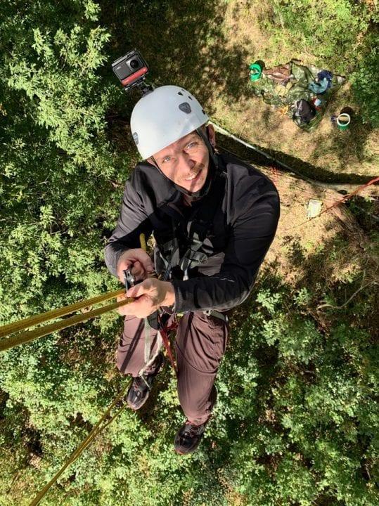September 18, 2020: Jake on rope!