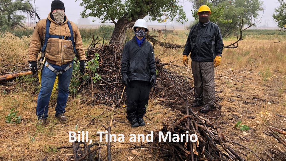 Bill Heston and Tina and Mario Lopez